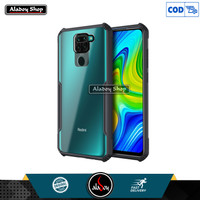 Aladoy Case Xiaomi Redmi Note 9 Airbag Transparent Casing