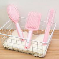sisir rambut pink hairdressing comb hsk025