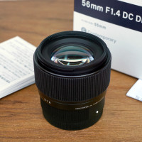 Lensa Sigma 56mm f1.4 DC DN | Contemporary Lens for Sony E Mount