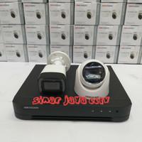 PAKET CCTV 3 CAMERA HIKVISION FULL HD 2MP (LNGKP TGGL PSNG AJA)