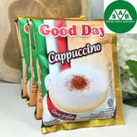 Kopi GoodDay Good Day Cappuccino | 1 Renceng (10sachet) 25gr