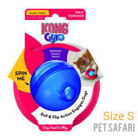 Mainan Anjing Kong Gyro Treat Dispenser size Small