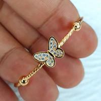 gelang baby kupu kupu variasi ad mata emas 70% 700 70 %