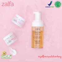 Zalfa Miracle Dewy Glow Mousse FC + Day + night Cream Lightening