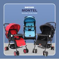 Stroller Reversible BabyDoes Montel / Kereta Dorong Bayi