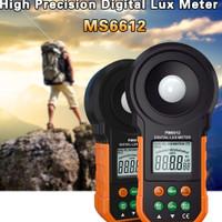 MS6612 200000 Lux Meter Light Test Spectra Luminometer Photometer FC