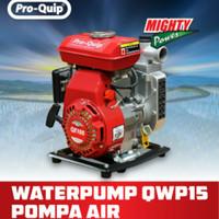 Waterpump PROQUIP 1.5 inch Mesin Pompa Air Sawah Portable QWP 15 USA