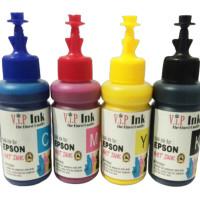 Paket Tinta Isi Ulang Art Paper Epson 100ml 4 botol