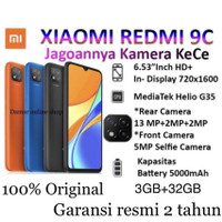 Xiaomi Redmi 9C 3/32GB Garansi Resmi