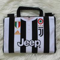 Tas Laptop Sablon Juventus 10 - 14 Inch Softcase Notebook Macbook