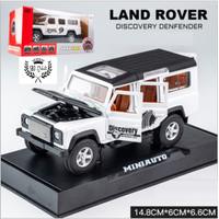 DIECAST Miniauto ORIGINAL MOBIL LAND ROVER DEFENDER DISCOVERY 1:32