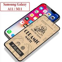 Samsung Galaxy A11 M11 Anti Gores Screen Guard Protector Ceramic Matte