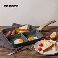 Carote Grill Pan 3 in 1 Anti Lengket 28 Cm
