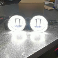 FOGLAMP LED 2 warna + ANGEL EYES TOYOTA INNOVA REBORN / FORTUNER VRZ