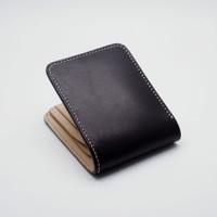 Bifold Wallet, Dompet Kulit Pria Standart - Detonator Serie - Black