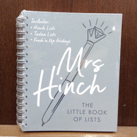 Mrs Hinch: The Little Book of Lists Book by Sophie Hinchliffe