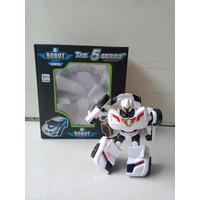 Mainan Anak Robot Mini | Tobbot | Transformer | Robot Mobil