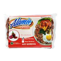 Alamie - Mie Buah Naga - Goreng Bawang 50gr - Mie Sehat