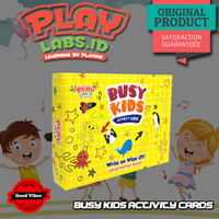 Flash Card Busy Kids Activity Card Playlabs Permainan Kartu Edukasi