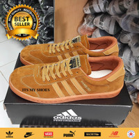 Sepatu Pria Adidas Hamburg Gold-Grade Original-Madein Vietnam