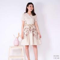 Deana Dress - Dress Batik Wanita Terusan Wanita