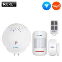 Bel Alarm Wireless Multifungsi KERUI WM5221 Tuya Smart Alarm System
