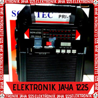 RADIO SOLAR PANEL SONATEC PRI1552LS (LAMPU EMERGENCY+SENTER+POWERBANK)