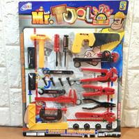 Mainan Tool Set Alat Perkakas Edukasi Anak Laki