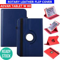 Advan W80 W 80 8 Inch Case Flipcase Flipcover Bookcover Sarung Kesing - Hitam