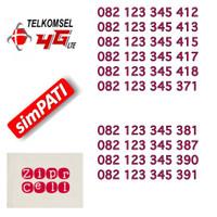Nomor Cantik Nocan Urut 123 345 Kartu Perdana Telkomsel Simpati 4G LTE