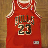 Jersey NBA basket Champion Chicago Bulls Jordan original