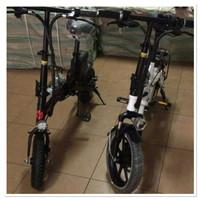 Khusus gosend sepeda lipat listrik dan manual 12inch DJG DEWASA anak