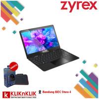 LAPTOP MURAH ZYREX NOTEBOOK SKY 232 MINI N3350-4GB-256GB-WIN10 BLACK