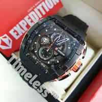 jam tangan pria New Expedition E 6782 M Black Rosegold