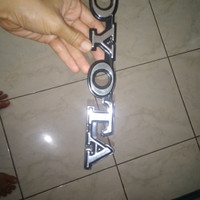 emblem Toyota untuk Hiace lama
