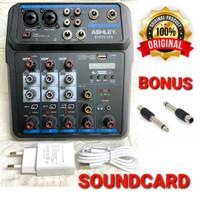 Ashley Speedup4 Mixer 4 Channel Baru