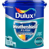 DULUX WEATHERSHIELD FLASH Tapestry Red 70R10/250 (20 L)