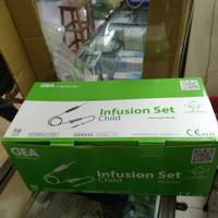 Infus set anak & Dewasa GEA / Infusion Set / Selang infus