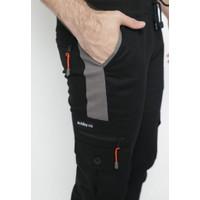 Celana Joger Pria Panjang Jogger Pants Cargo Long list Premium |HITAM - M