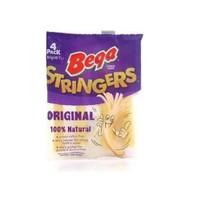 Bega Stringers Mozarella Cheese 4 pack Cheese Stick Mozarella Bega 80g