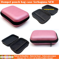 Case Hp Data Cable Charger PINK