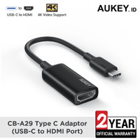 Aukey CB-A29 Type C Adaptor (USB-C to HDMI Port) - 500585