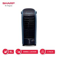 Sharp Air Cooler PJ-A36TY-B/W - Hitam