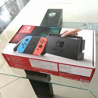 Nintendo Switch V1 Neon Fullset Likenew
