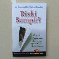 Buku Rizki Sempit ? Buku Saku