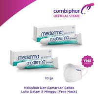 [2 PCS Mederma 10g] Free Masker