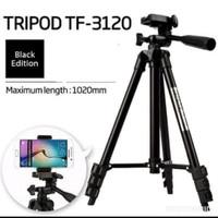 TRIPOD 3120 BLACK 1 METER PLUS HOLDER U UNIVERSAL WEIFENG 3120 A - Non Bubble