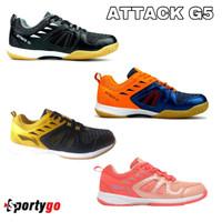 Sepatu Badminton Li Ning Attack G5 / G 5 / Lining attack 5