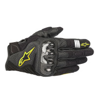 Sarung tangan Alpinestars SMX-1 AIR V2 BLACK YELLOW / GLOVES