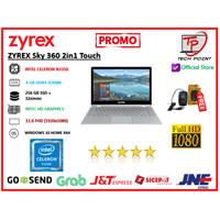 LAPTOP ZYREX Sky 360 2in1 Touch N3350 4GB 256ssd+32emmc 11.6FHD W10